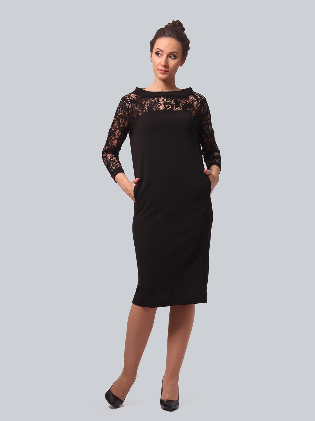 Платье черное | 5621416