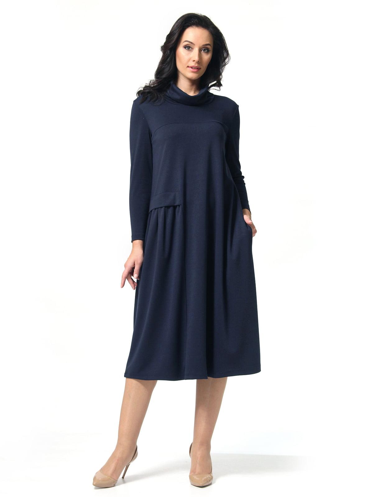 Платье темно-синее | 5621419