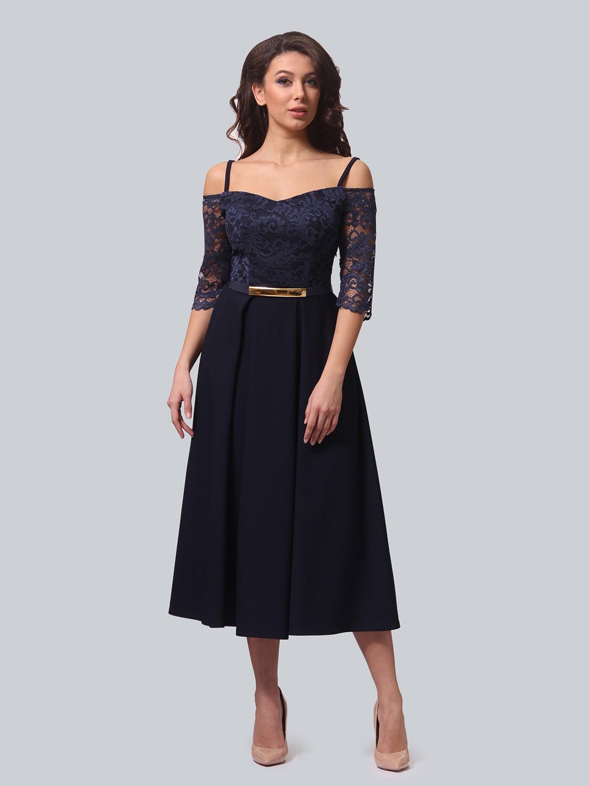 Платье синее | 5620907