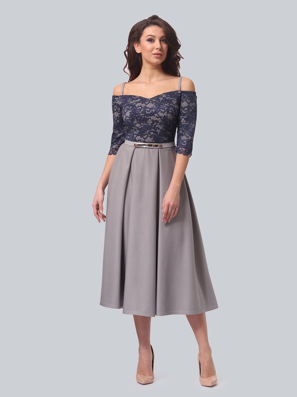Платье двухцветное | 5620908