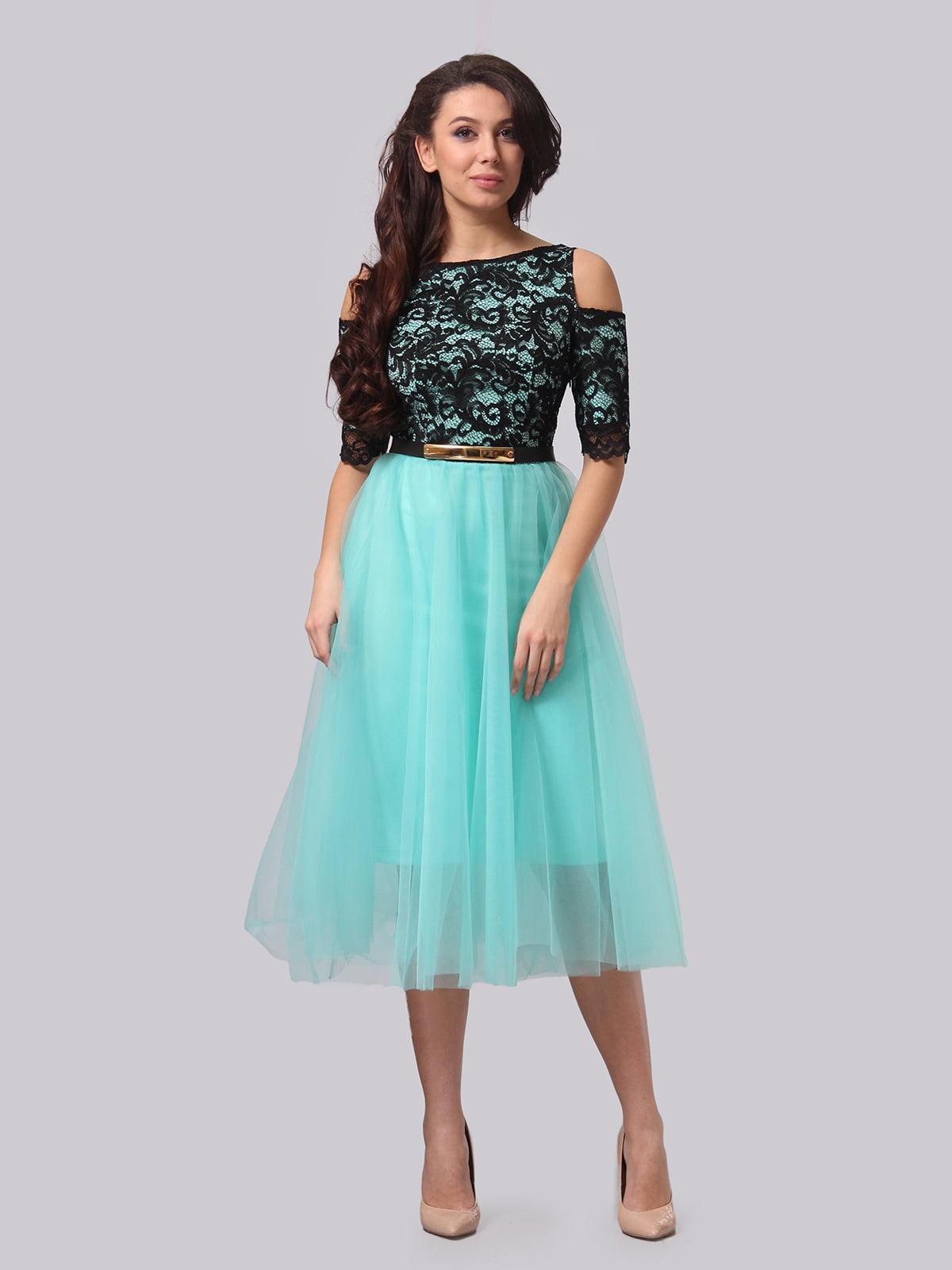 Платье двухцветное   5620914