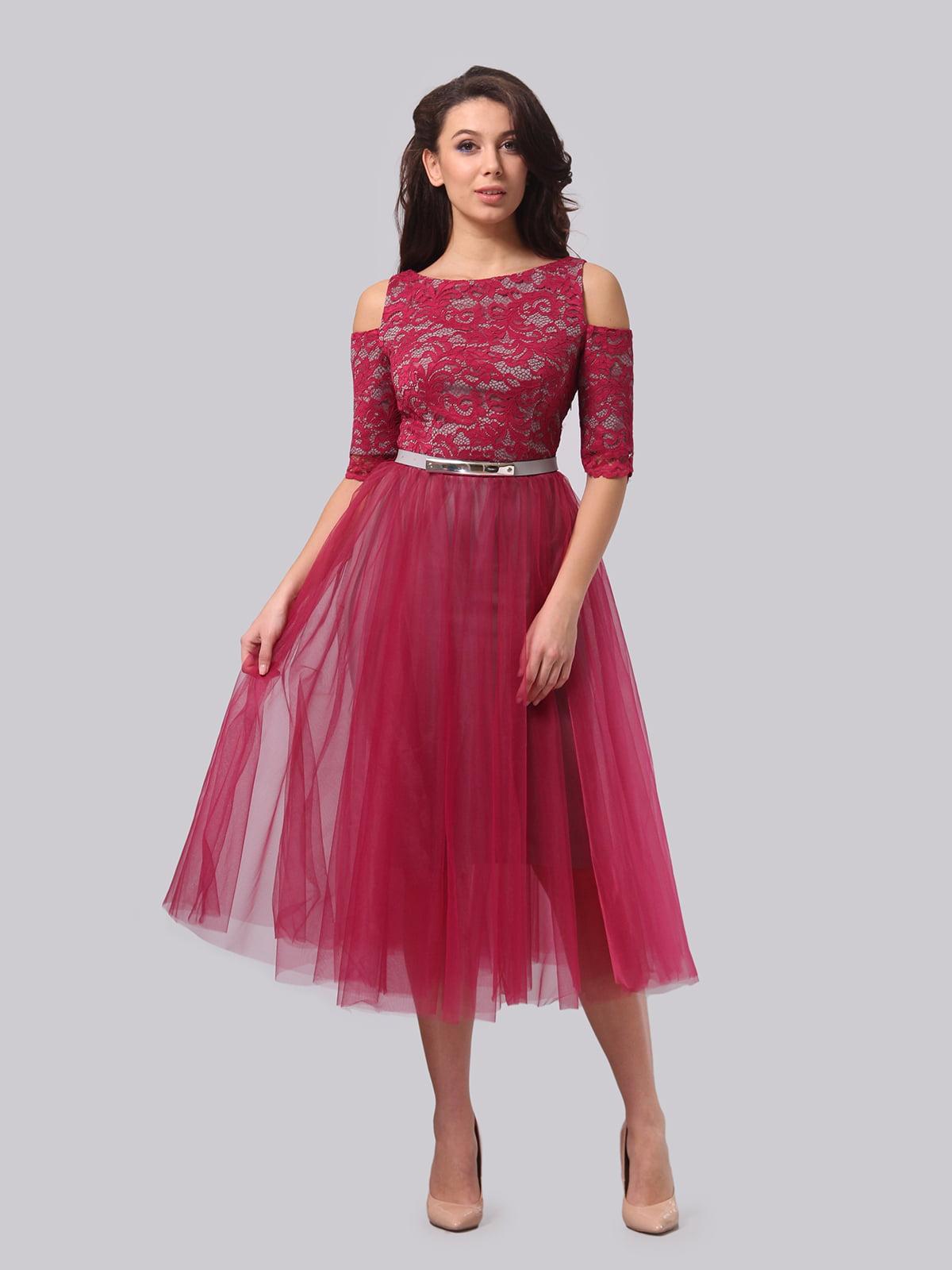 Сукня кольору фуксії | 5620916