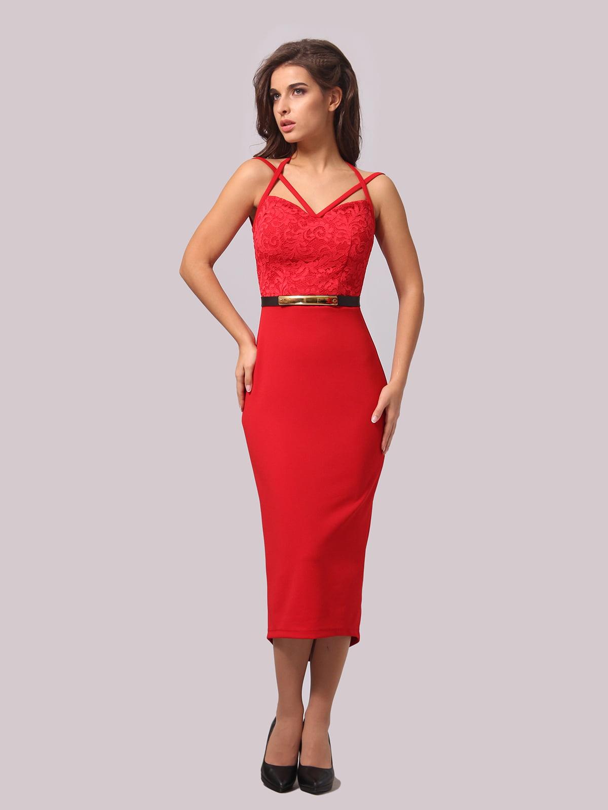 Сукня червоного кольору   5620927