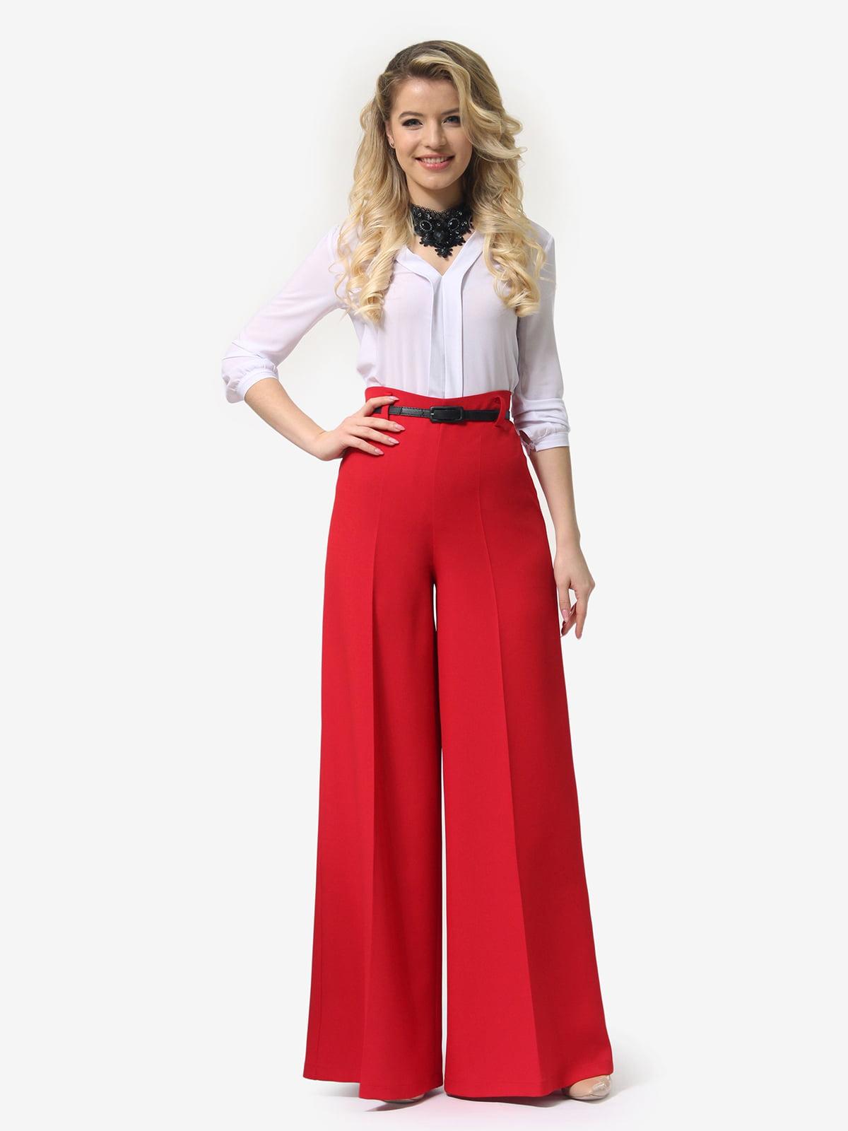 Штани червоного кольору   5620946