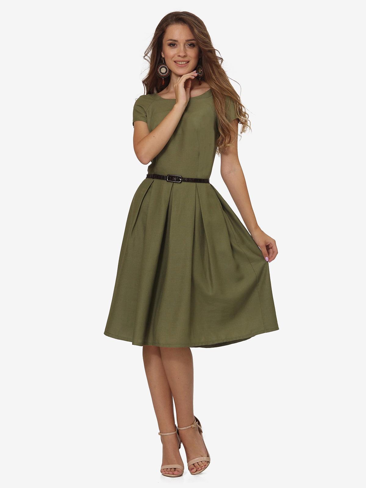 Платье цвета хаки | 5620989