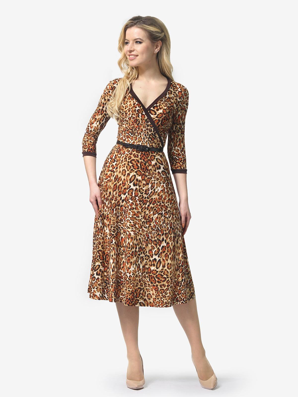 Сукня в анімалістичний принт | 5621060