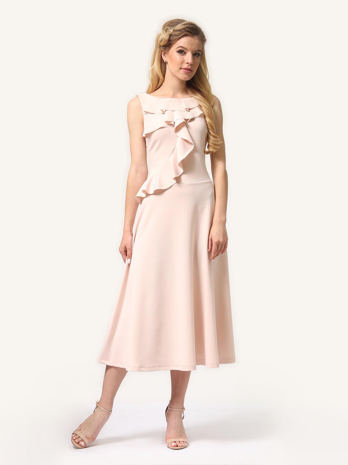 Платье цвета пудры   5620730