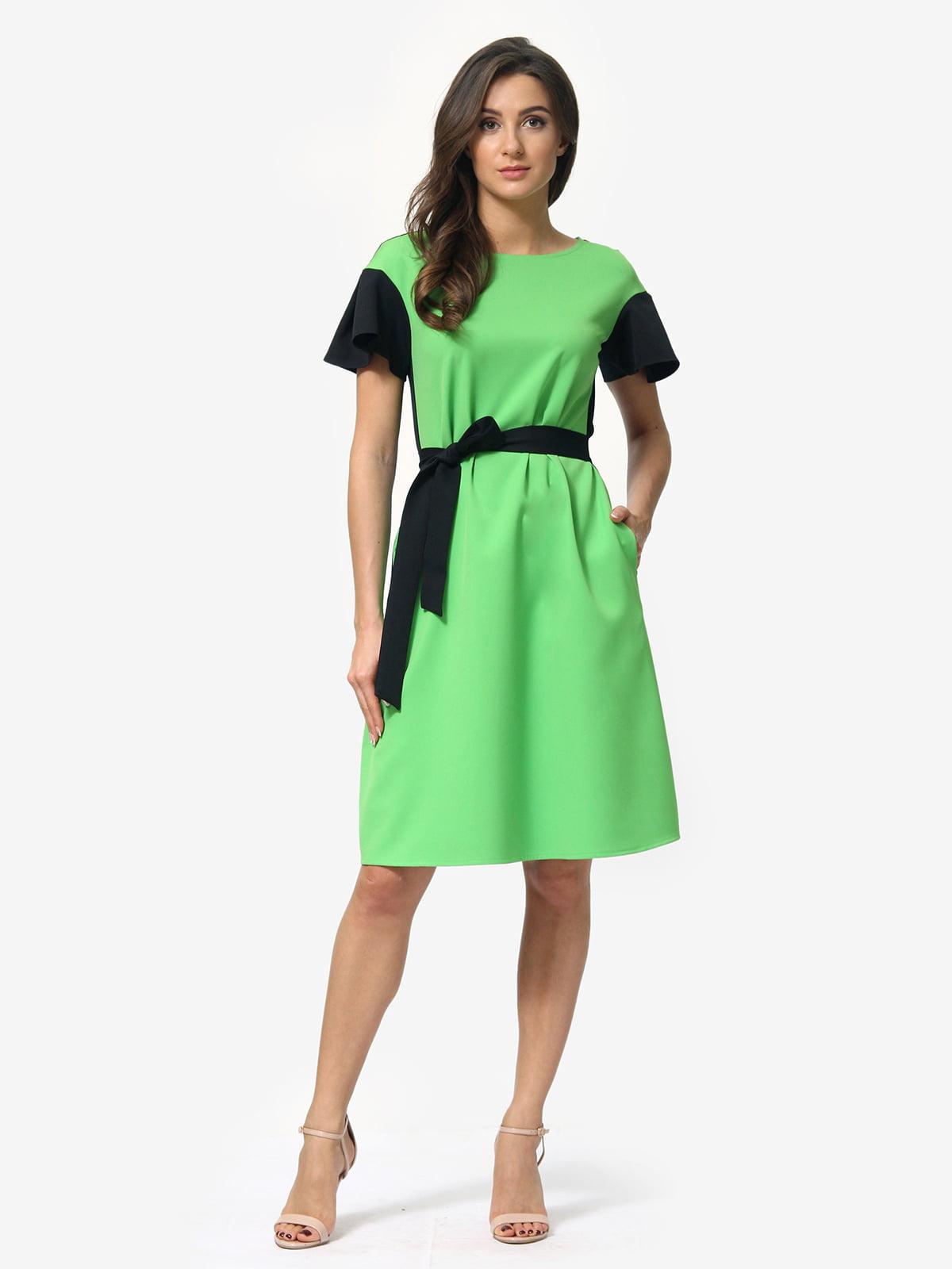Платье двухцветное | 5620767