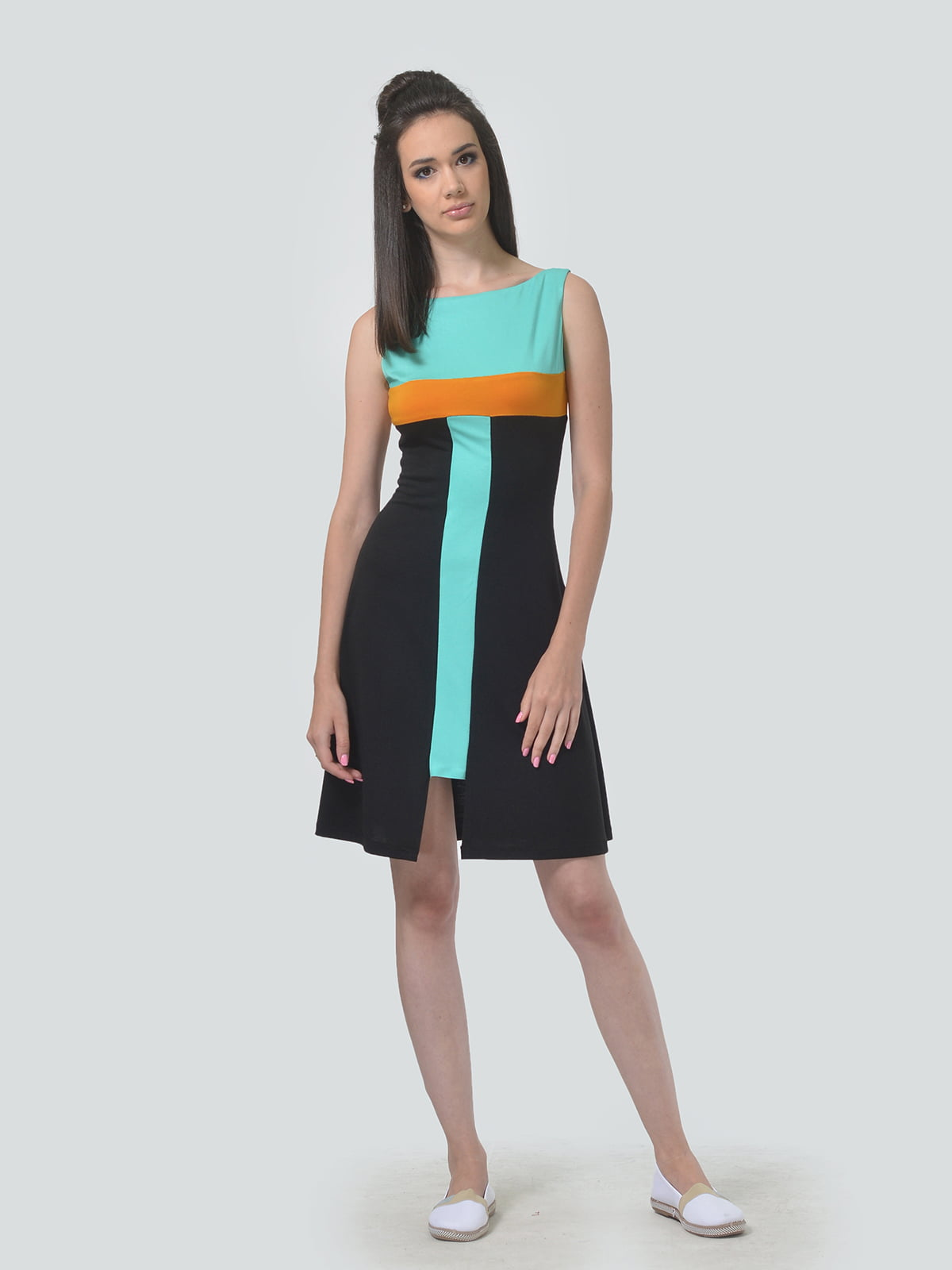 Сукня триколірна | 5621284