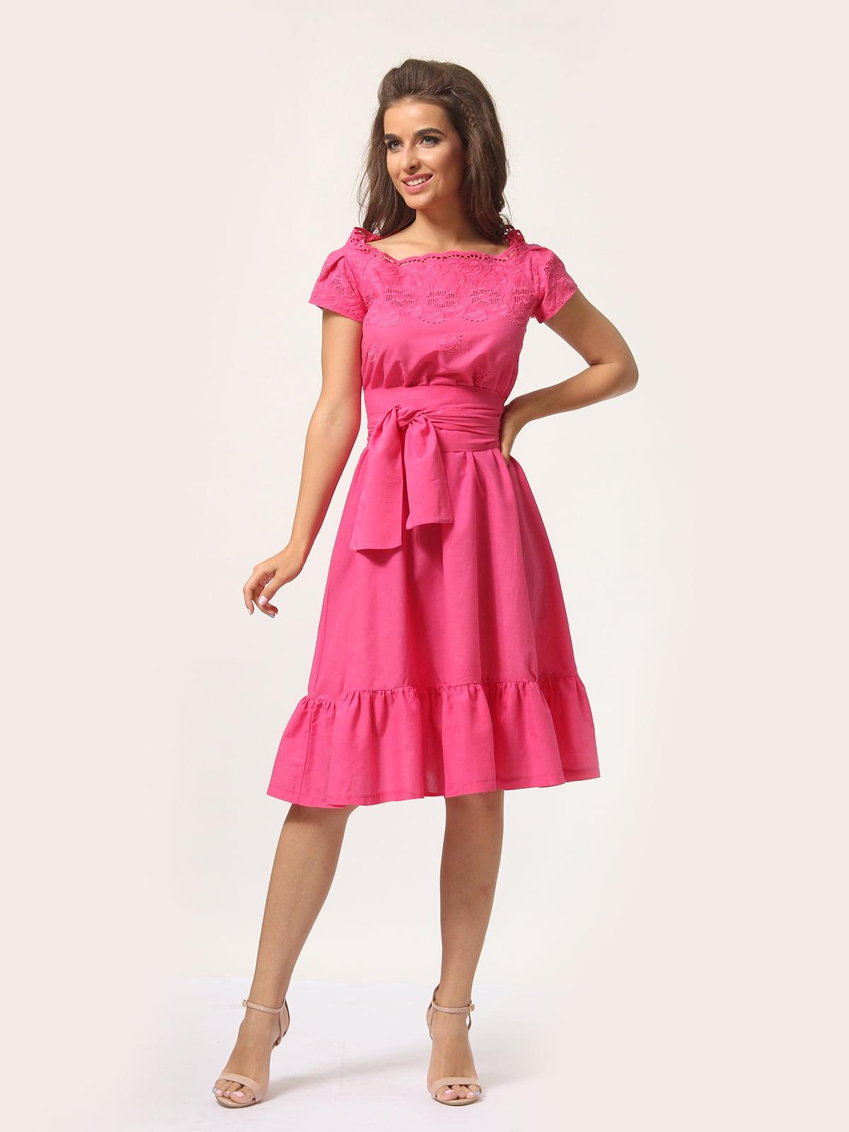 Сукня рожевого кольору | 5621319