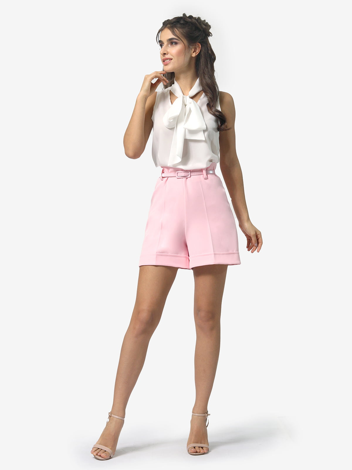 Шорты розового цвета | 5621352