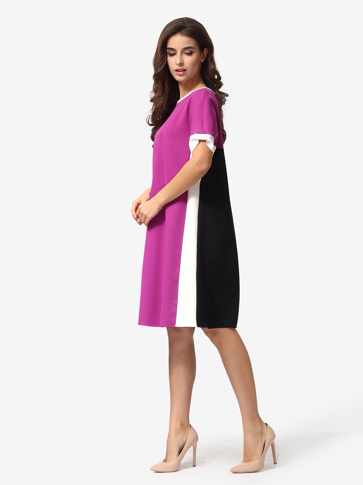 Сукня триколірна в смужку | 5621373