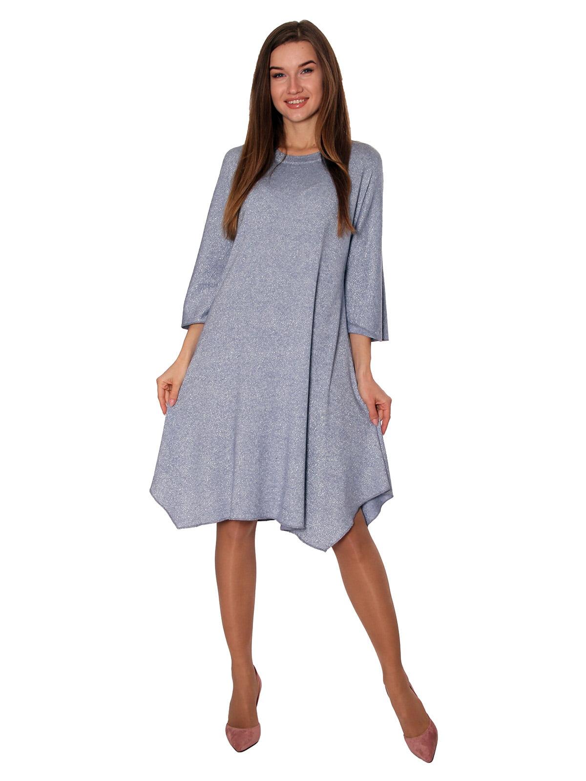 Платье голубое | 5621777