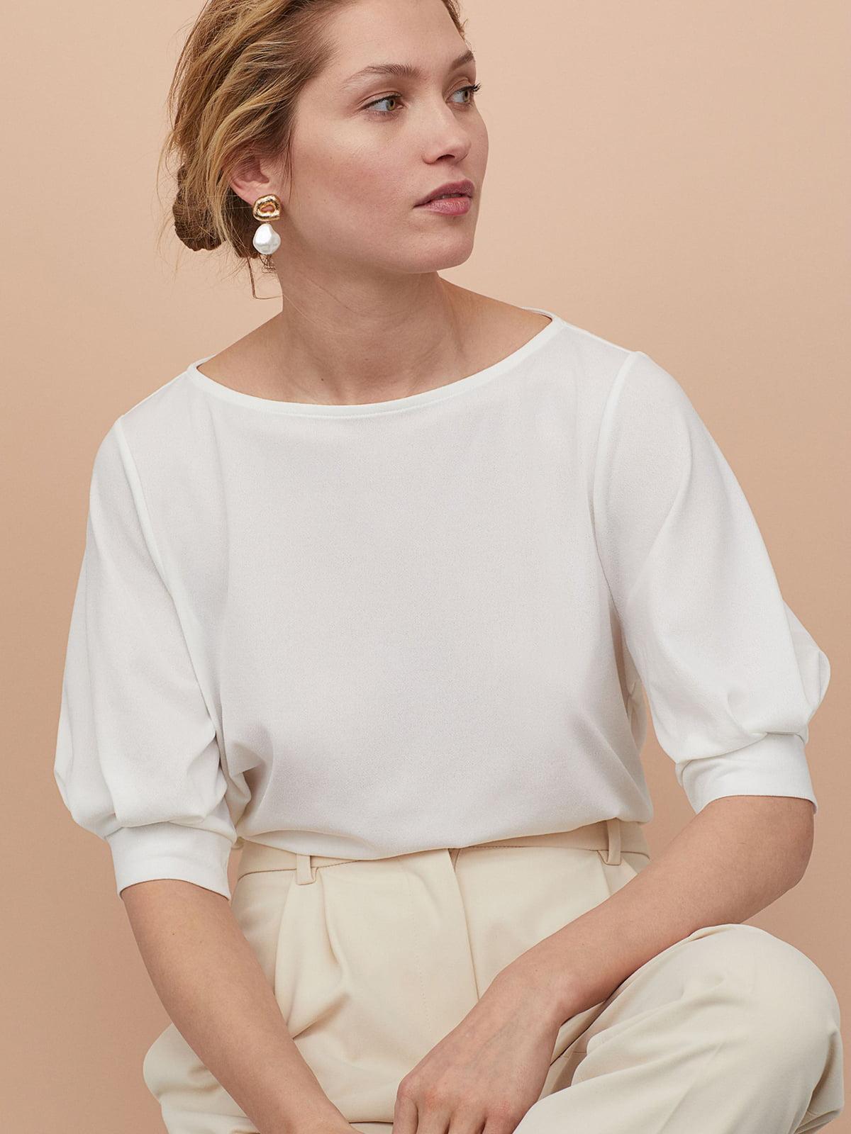 Блуза белая | 5619047