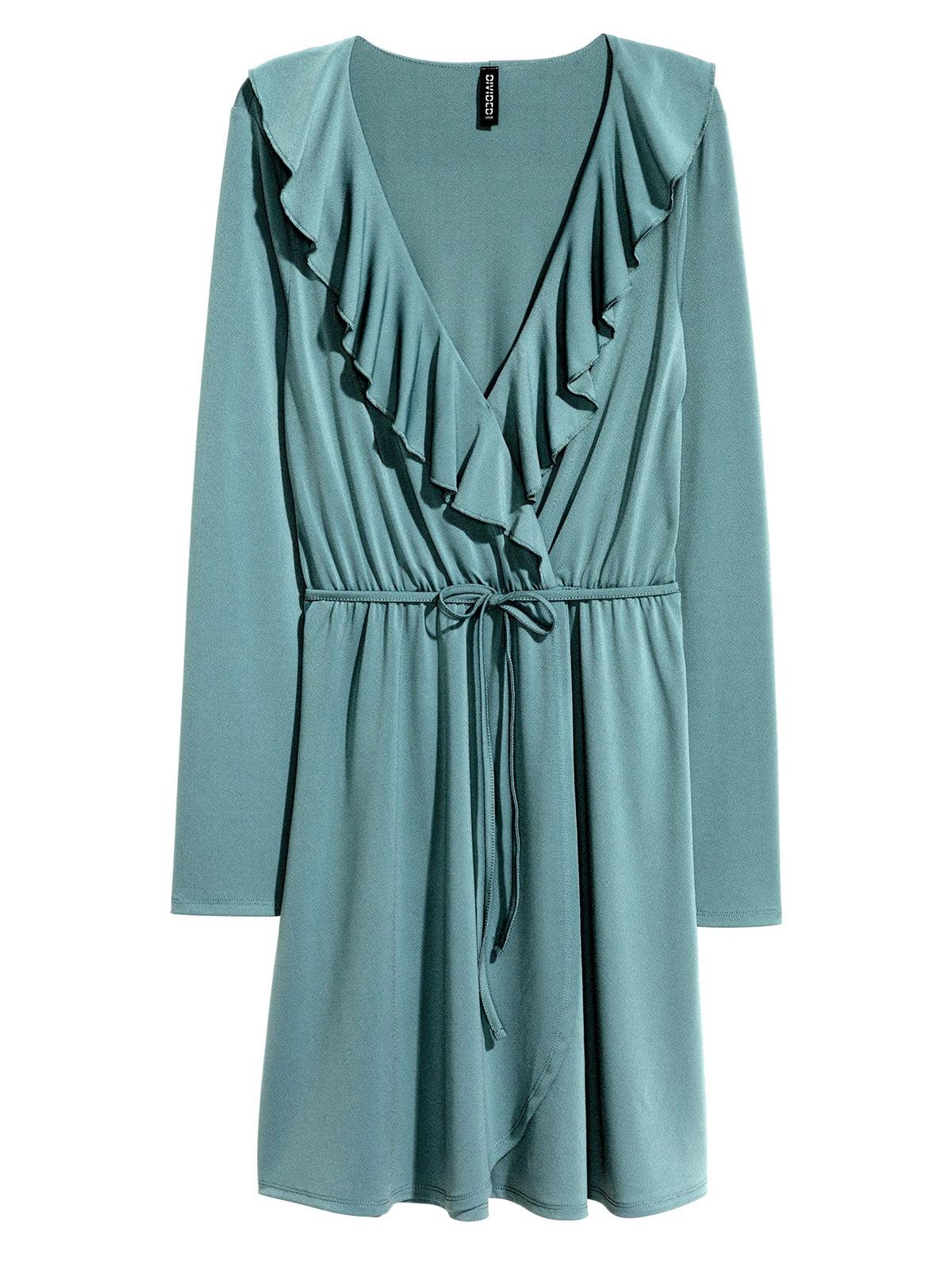 Платье бирюзовое | 5623504