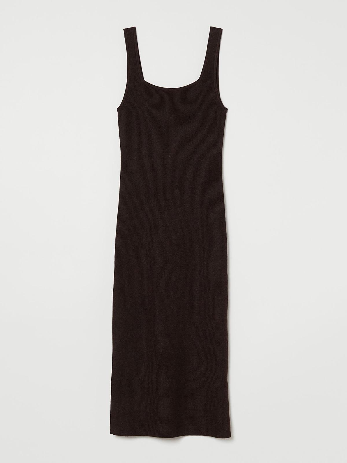 Платье коричневое   5623769