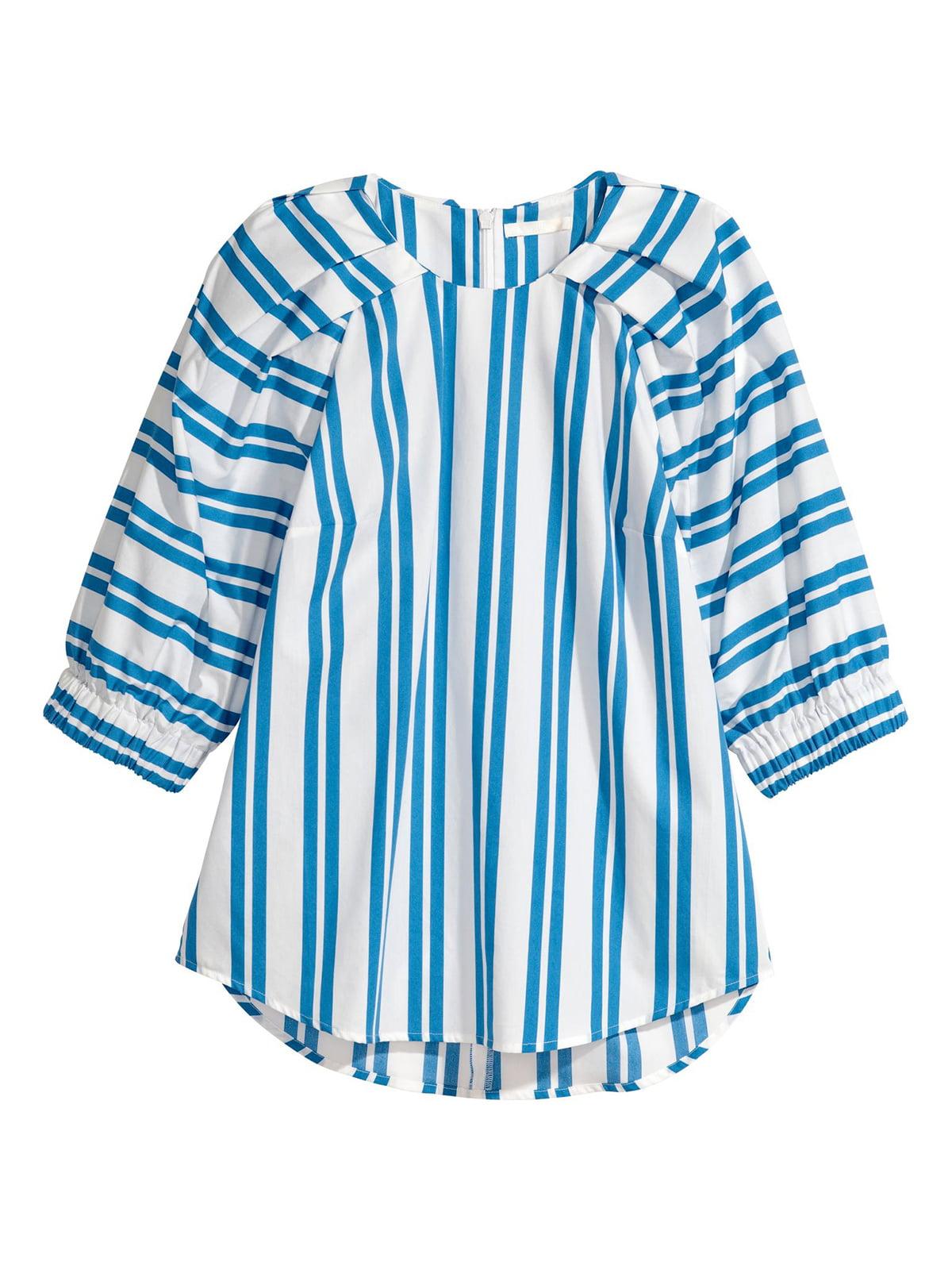 Блуза белая в полоску | 5623848