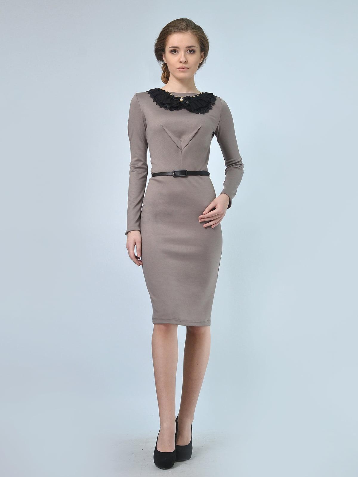 Сукня кавового кольору | 5620797