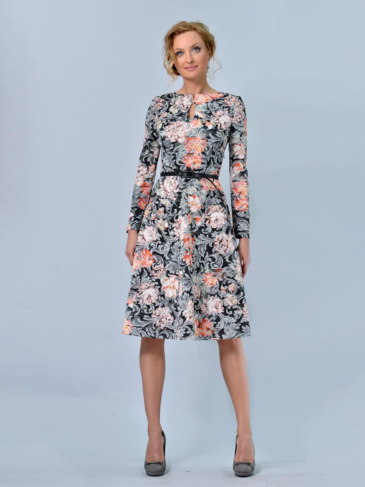 Сукня в квітковий принт   5620804