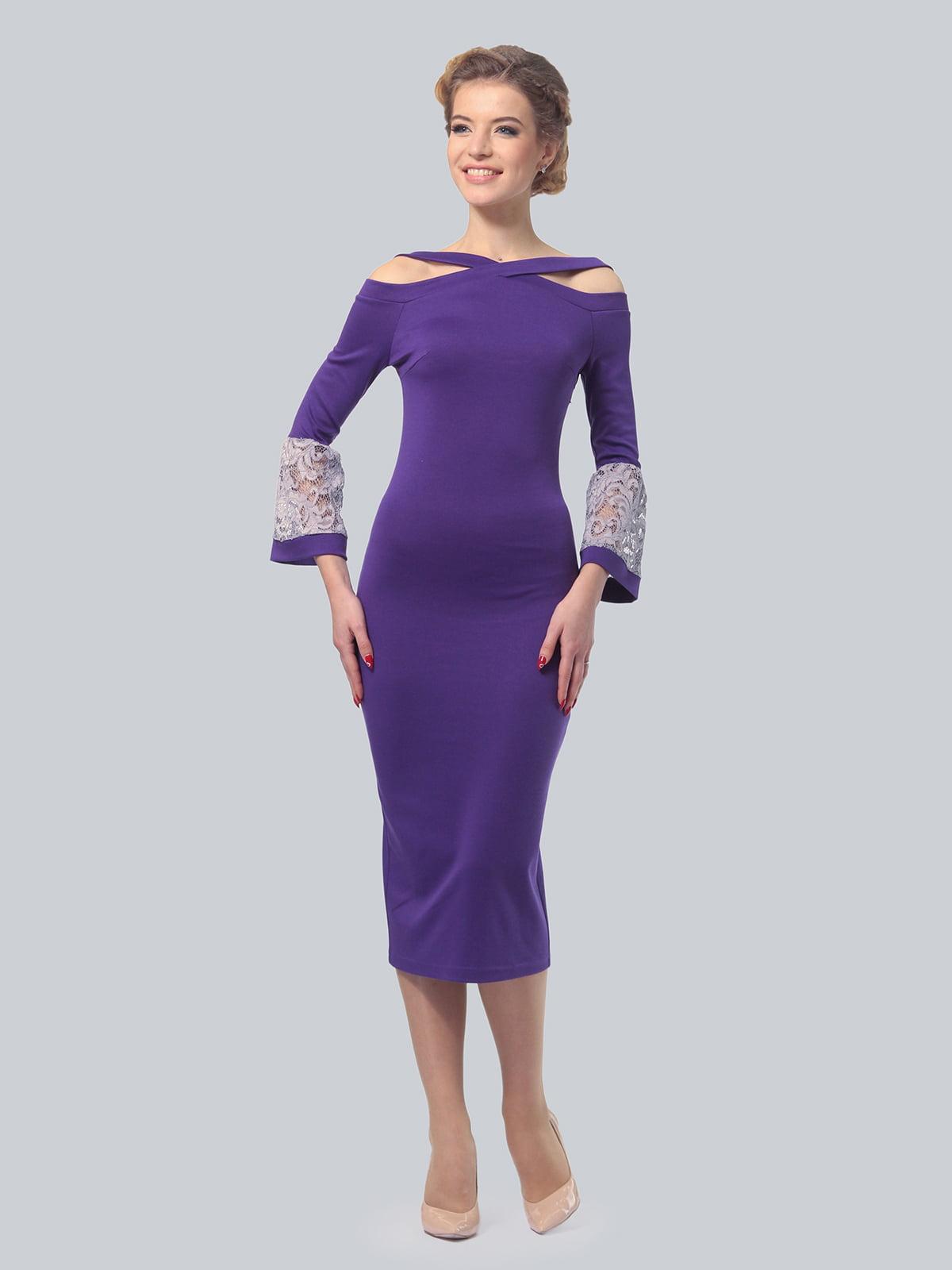 Платье фиолетовое | 5620900