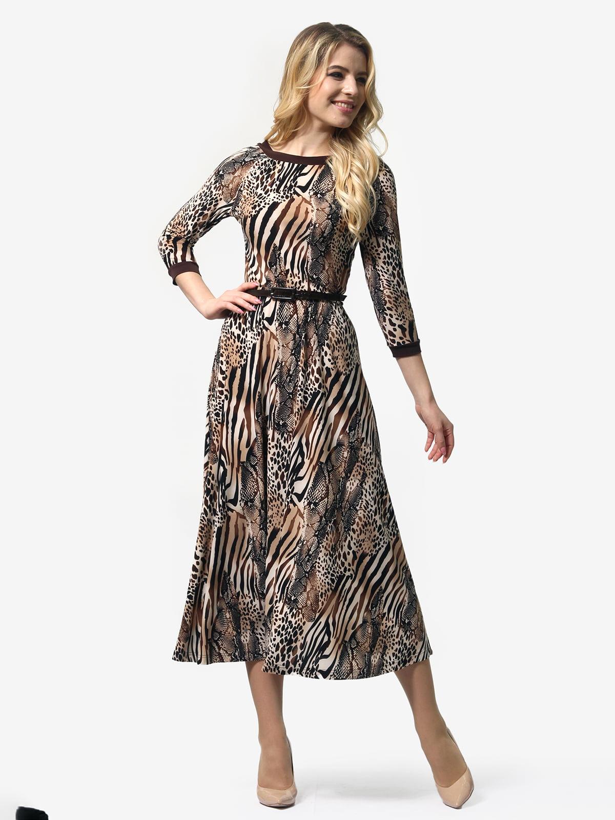 Сукня в анімалістичний принт | 5620959