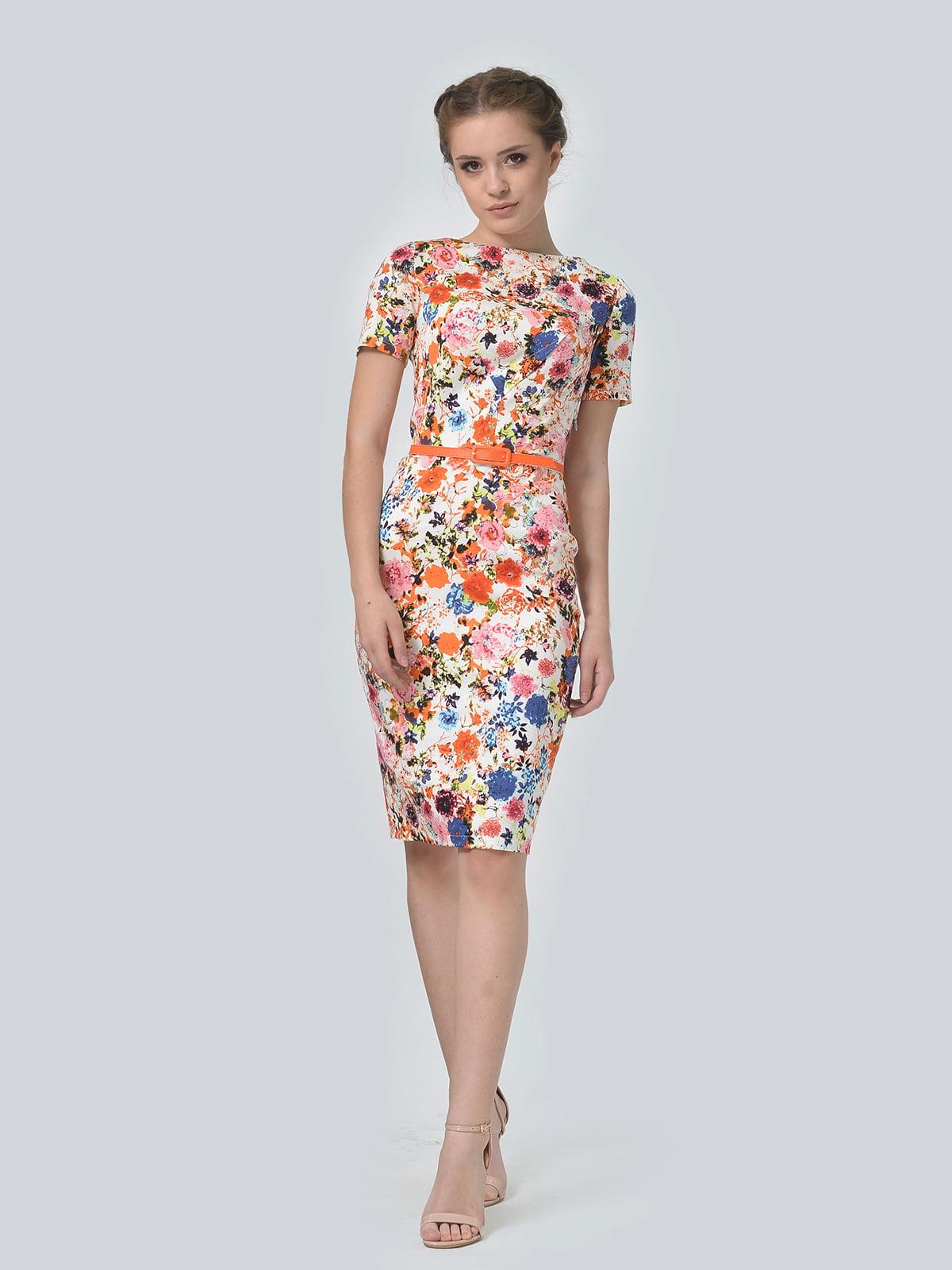 Сукня в квітковий принт | 5620994