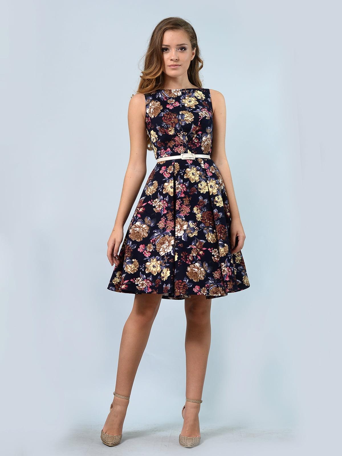 Сукня в квітковий принт | 5621012