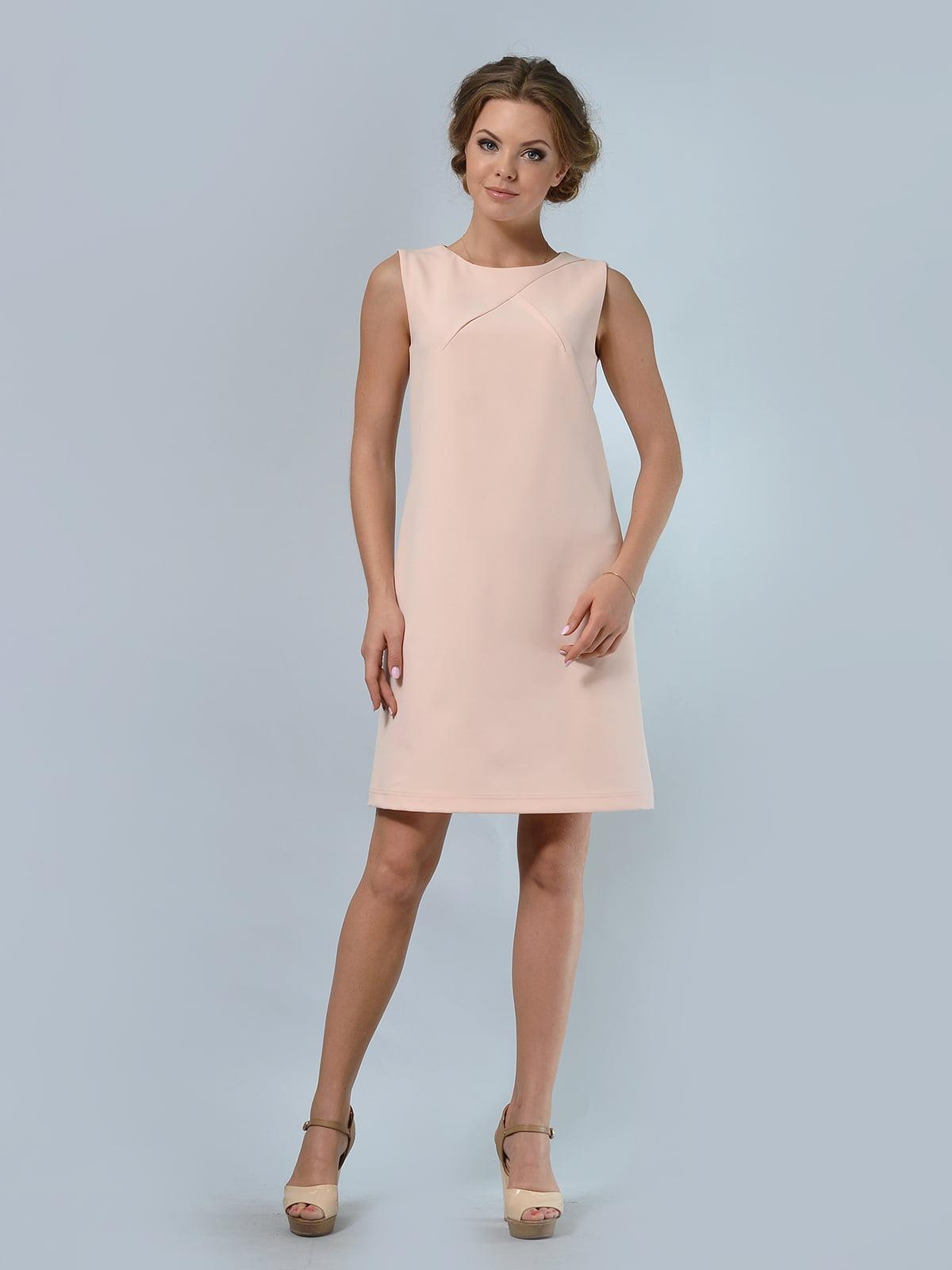 Сукня кольору пудри | 5621022