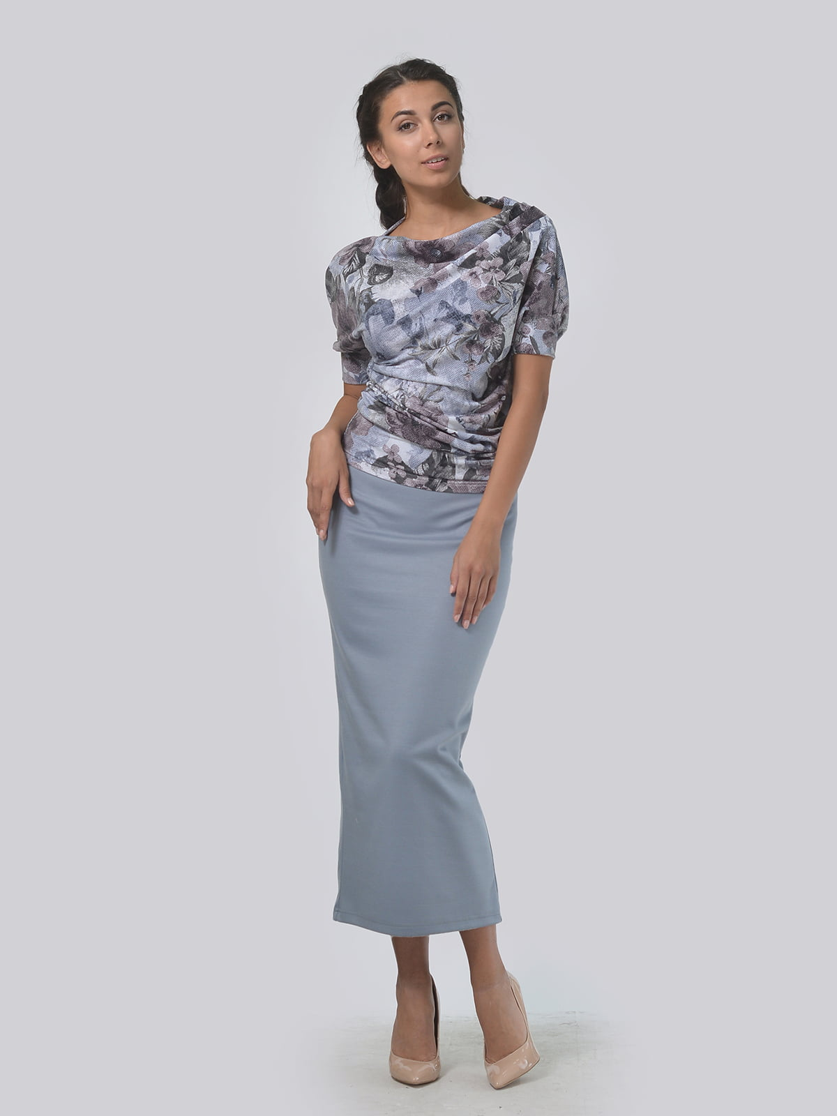 Комплект: блуза і спідниця   5621587