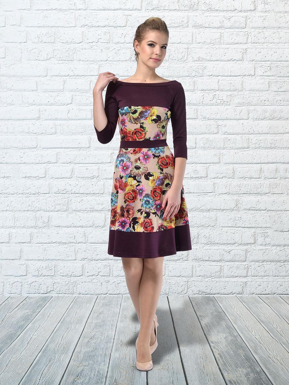 Сукня в квітковий принт   5620666