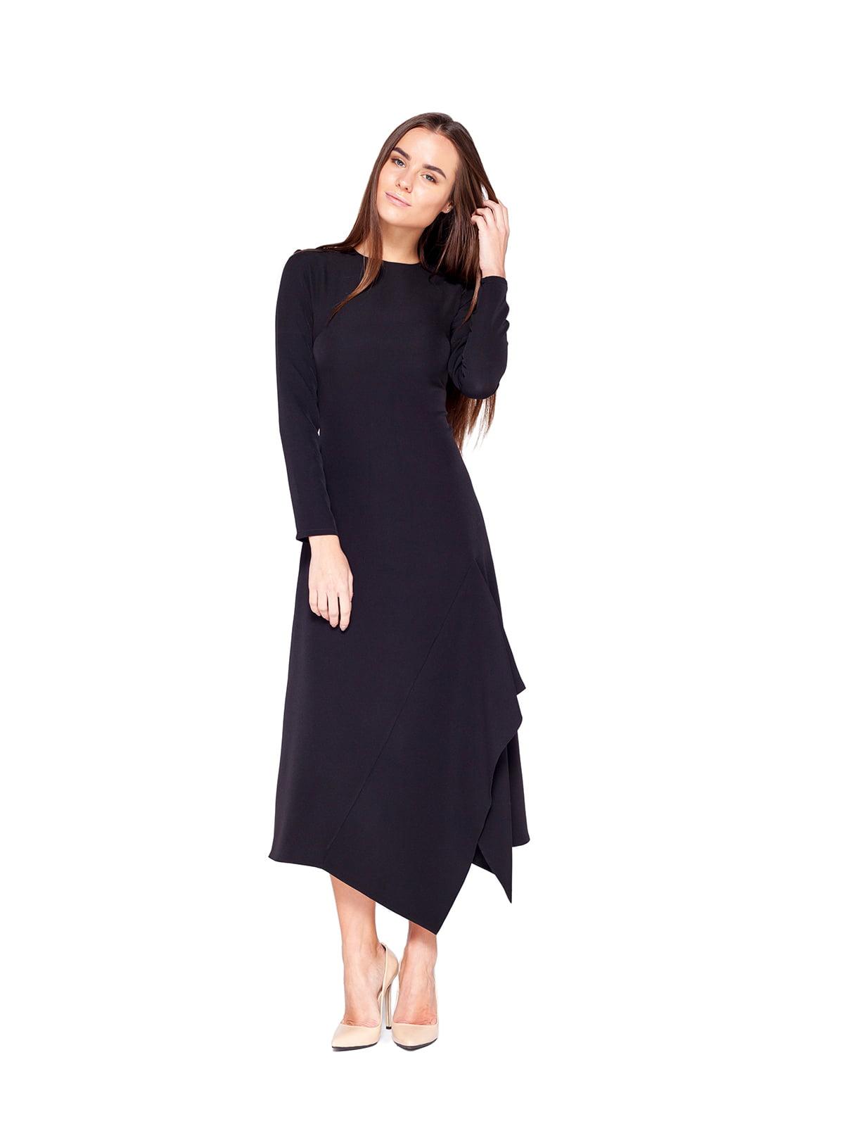 Сукня темно-коричнева | 5620778