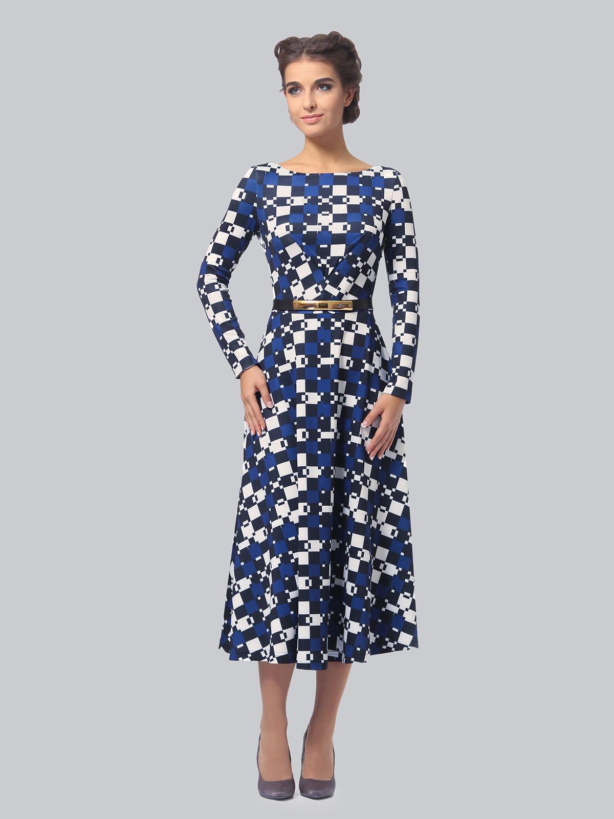 Сукня в геометричний принт | 5620869