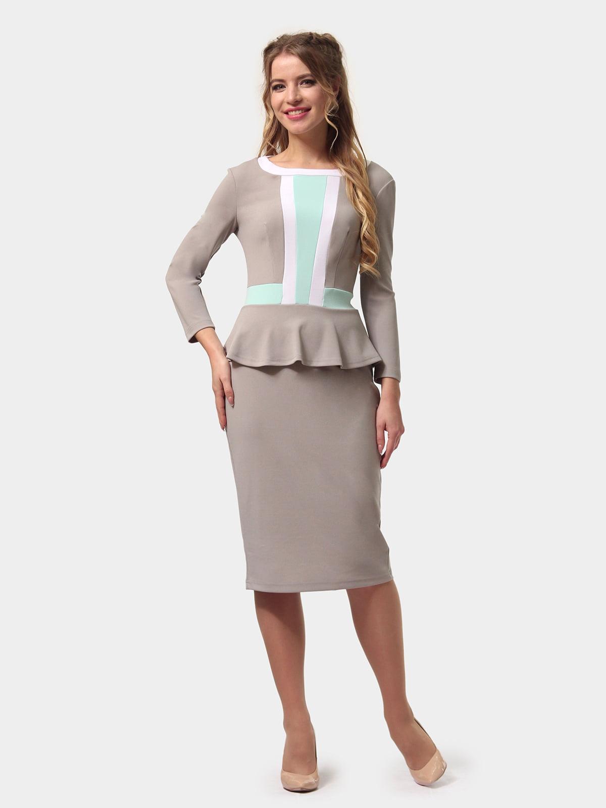 Сукня триколірна   5620941