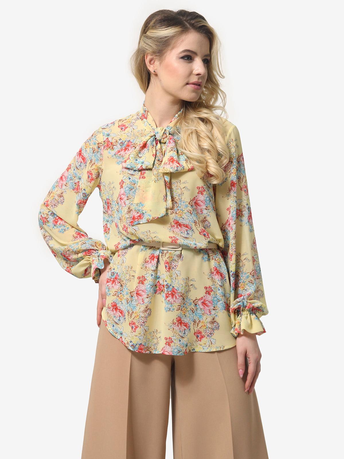 Блуза в квітковий принт | 5620968