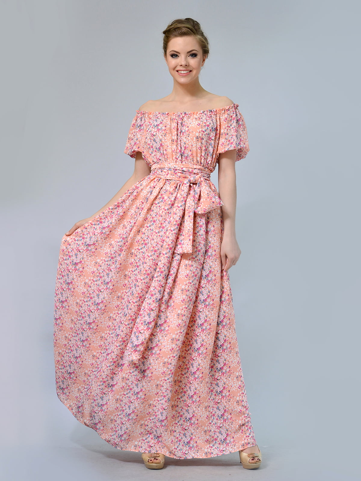 Сукня в квітковий принт | 5620986