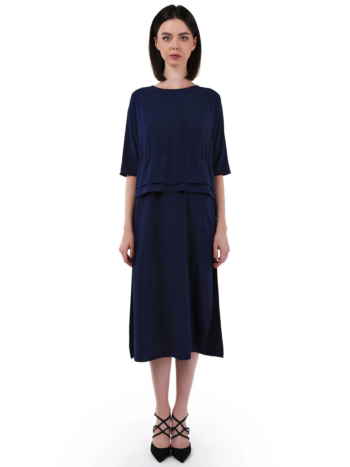 Сукня темно-синя   5621459
