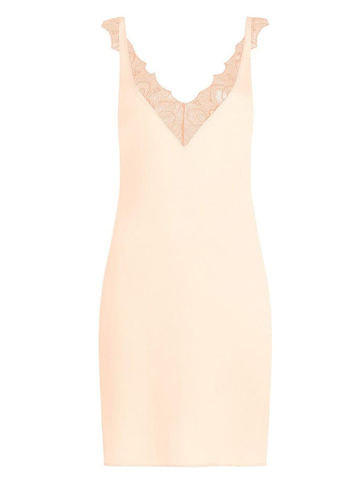 Сорочка нічна персикового кольору | 5625599