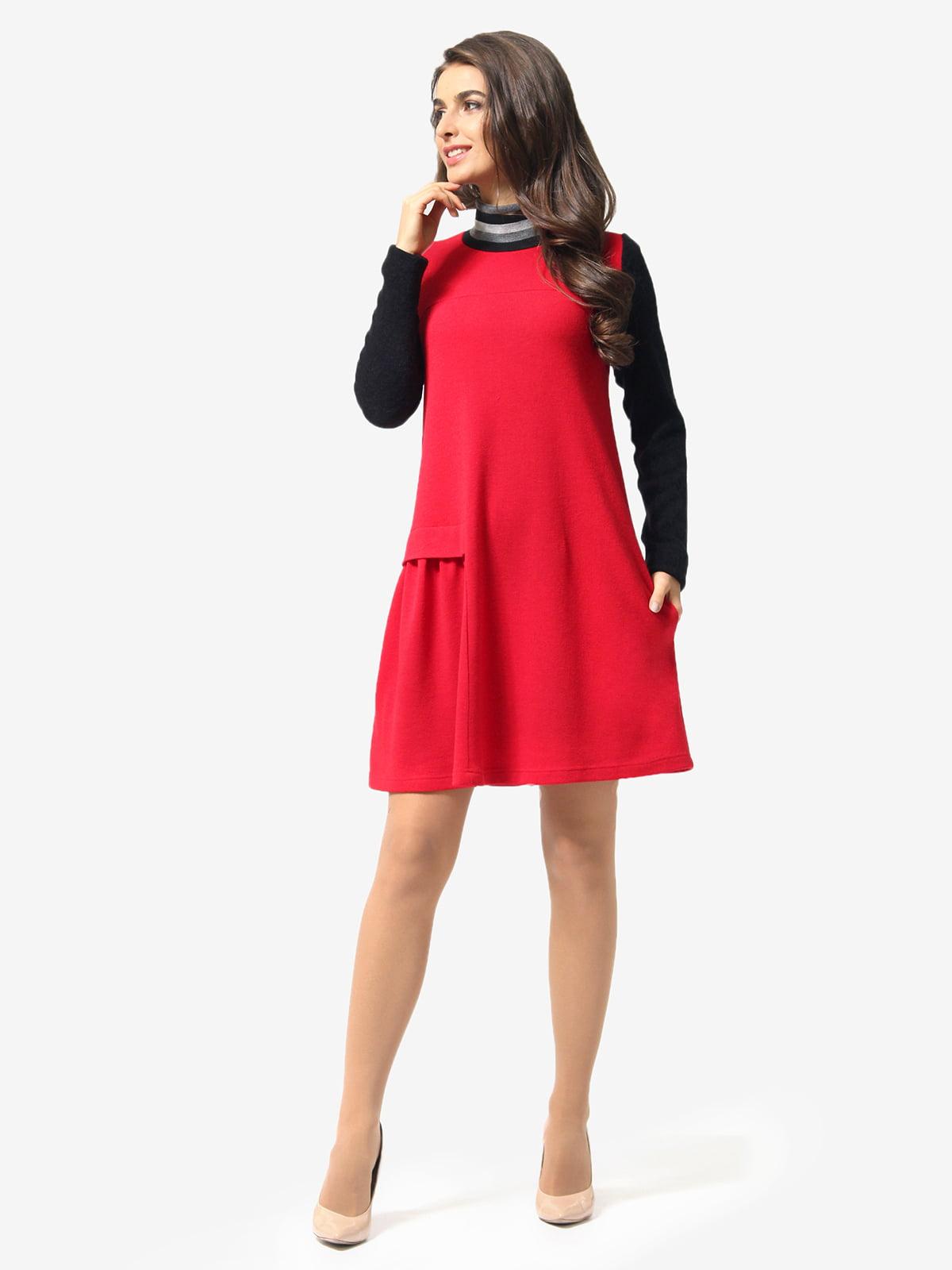 Сукня чорно-червона | 5626000
