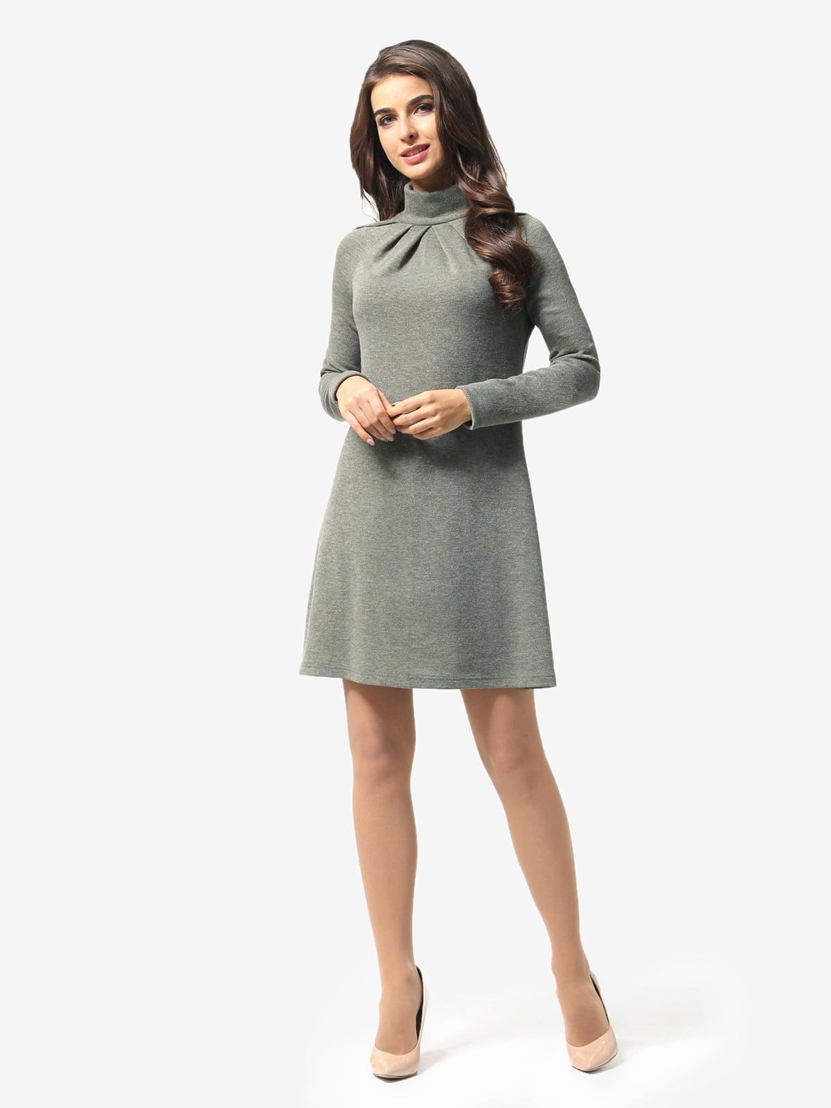 Сукня оливкового кольору | 5626004