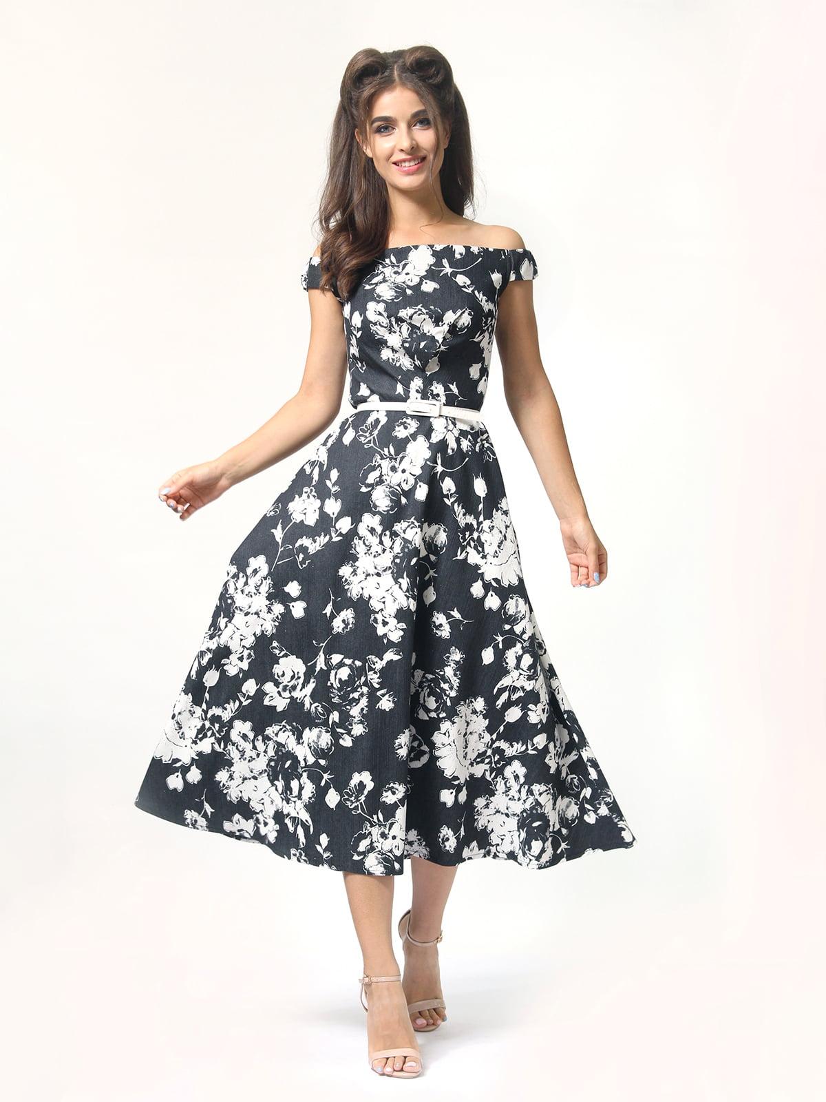 Сукня з квітковим принтом | 5626046