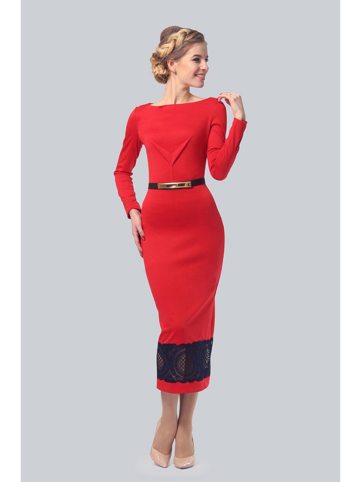 Сукня червона | 5626580
