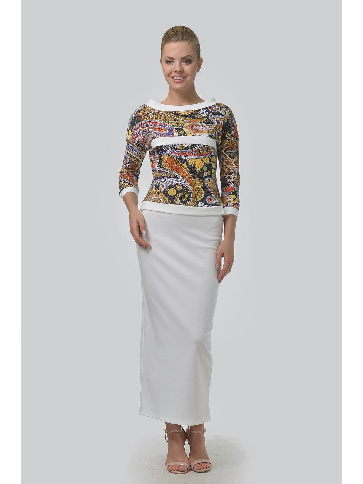 Костюм: блуза і спідниця | 5626607
