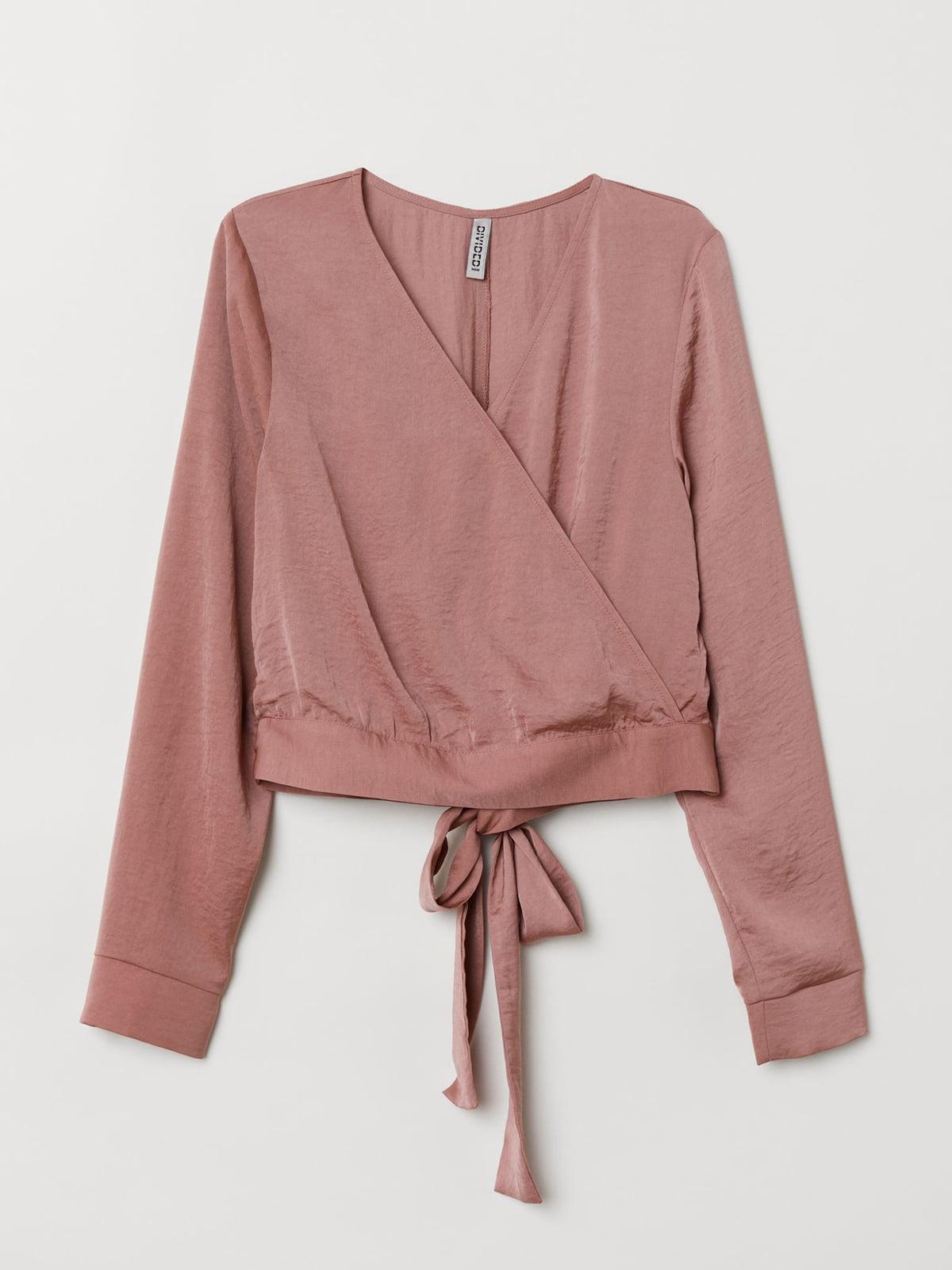 Блуза цвета пудры | 5628859