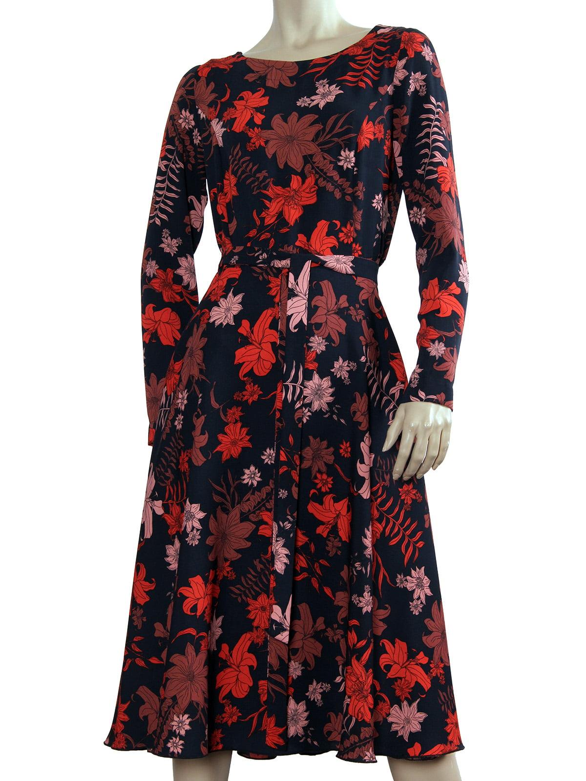 Платье в цветочный принт | 5631056