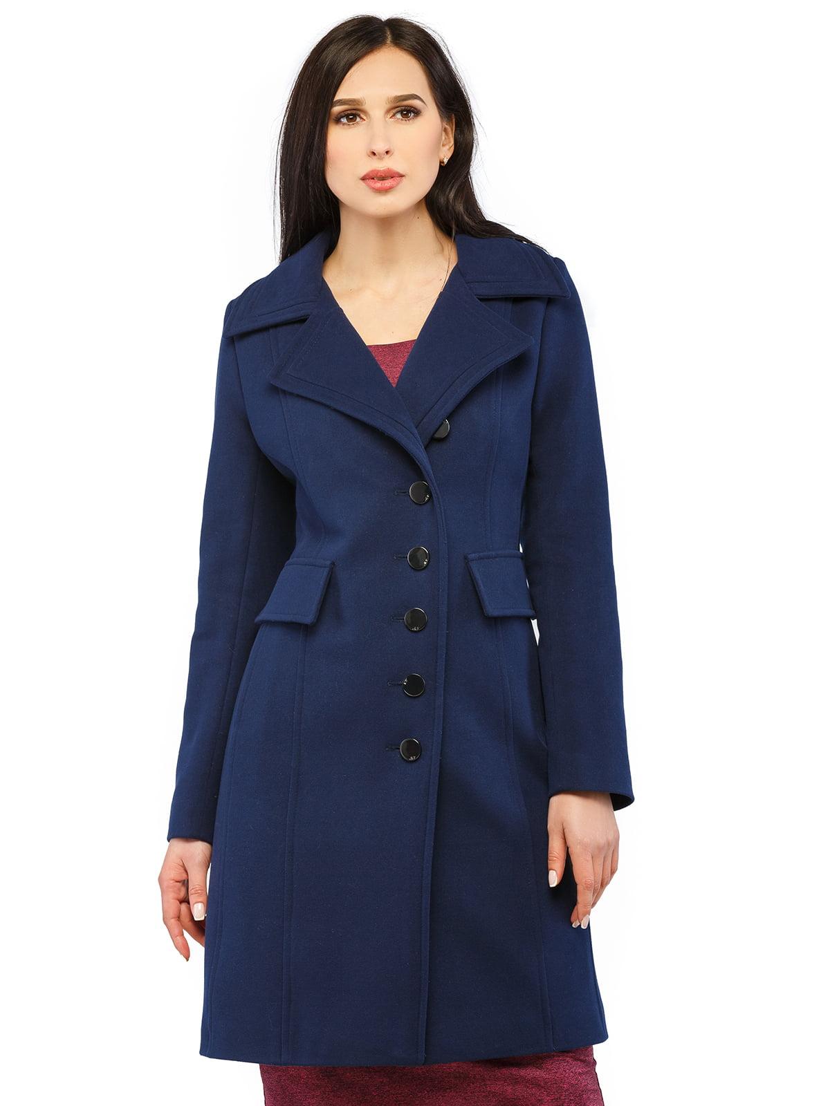 Пальто синее | 5216165