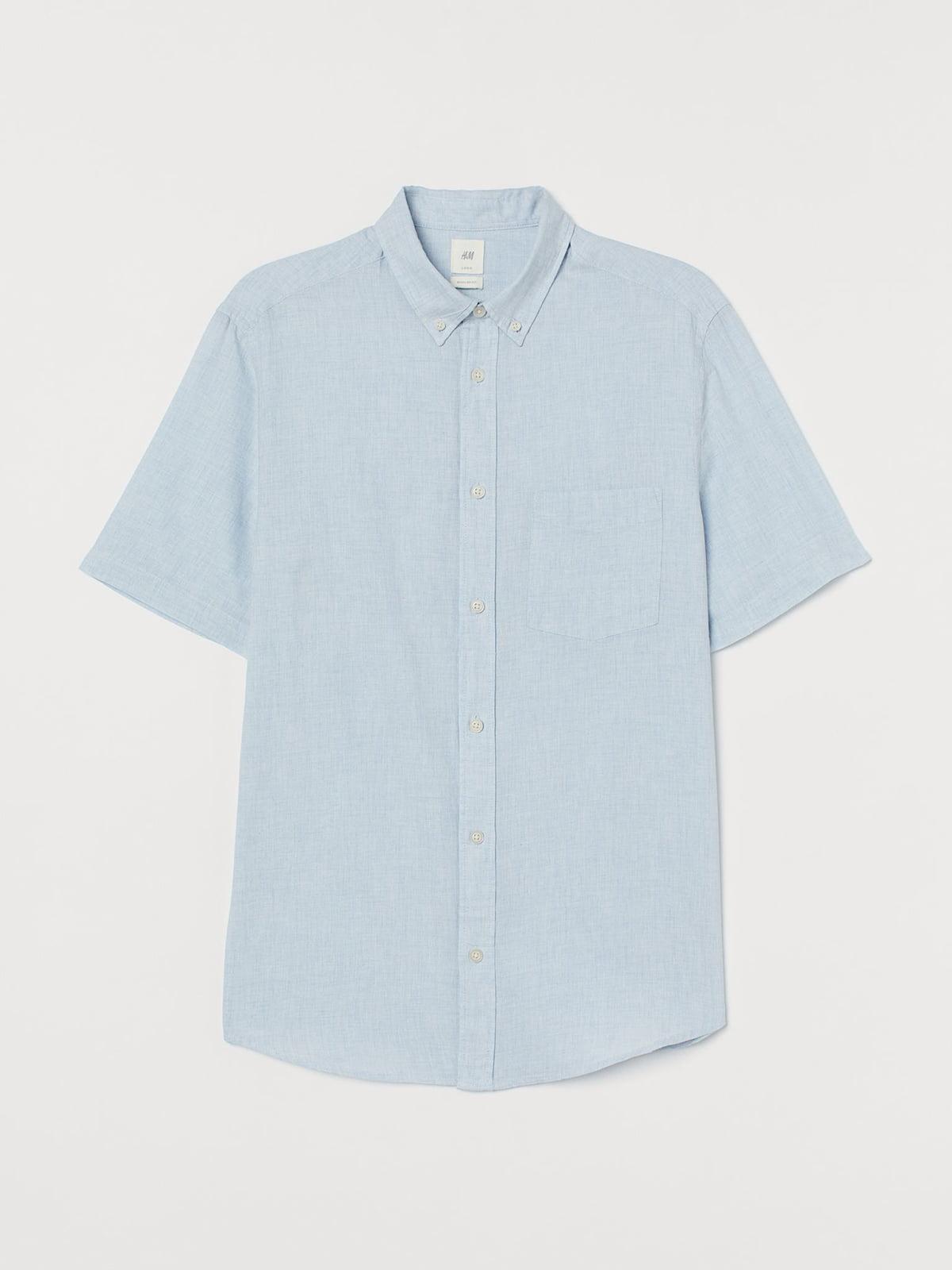 Рубашка голубая | 5632900