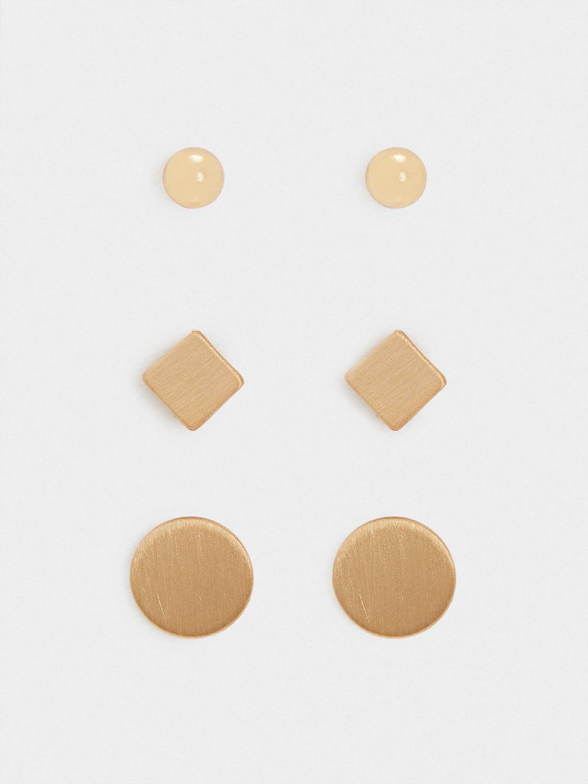 Комплект серьг (3 пары) | 5635177