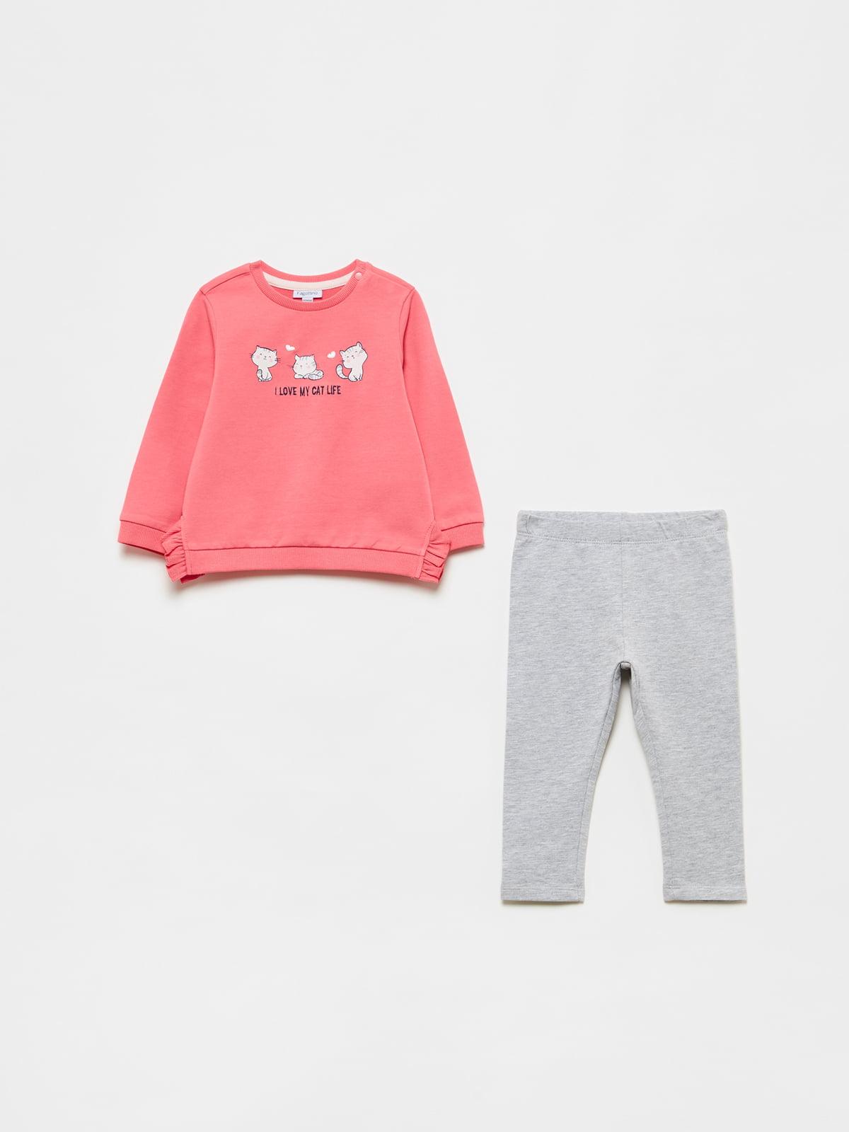 Комплект: свитшот и брюки | 5635337