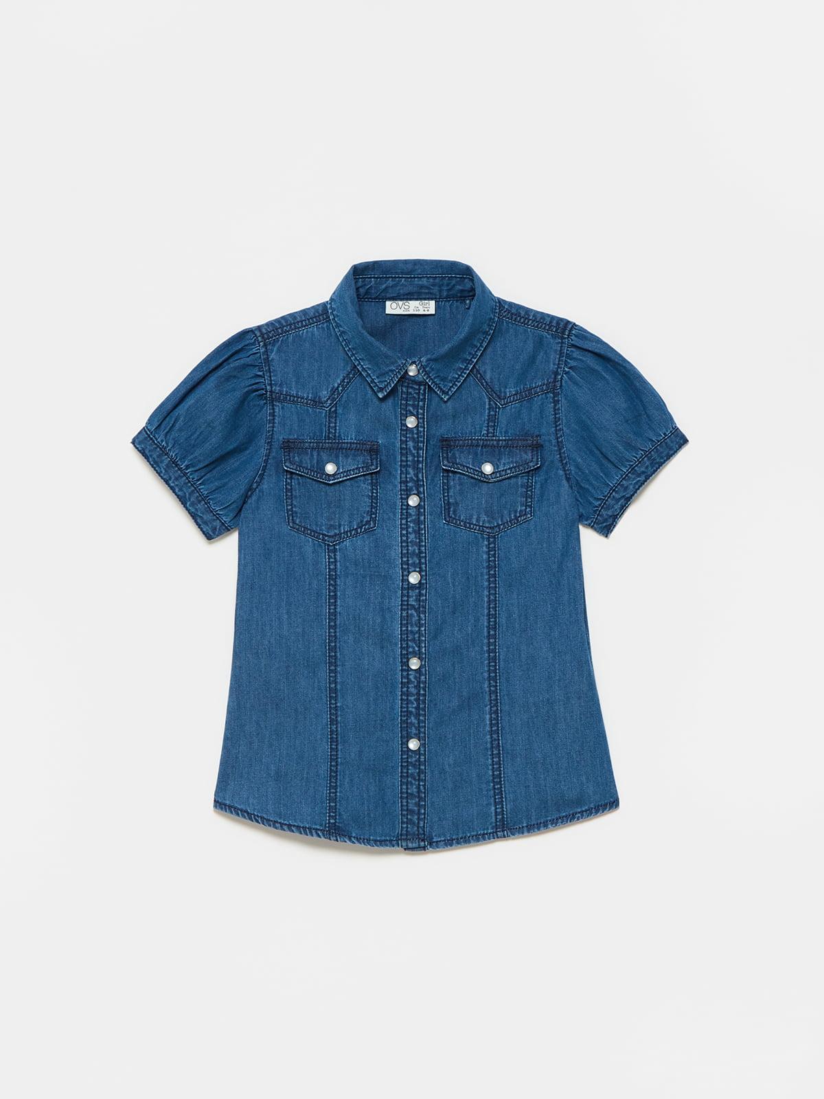 Рубашка джинсовая | 5635443