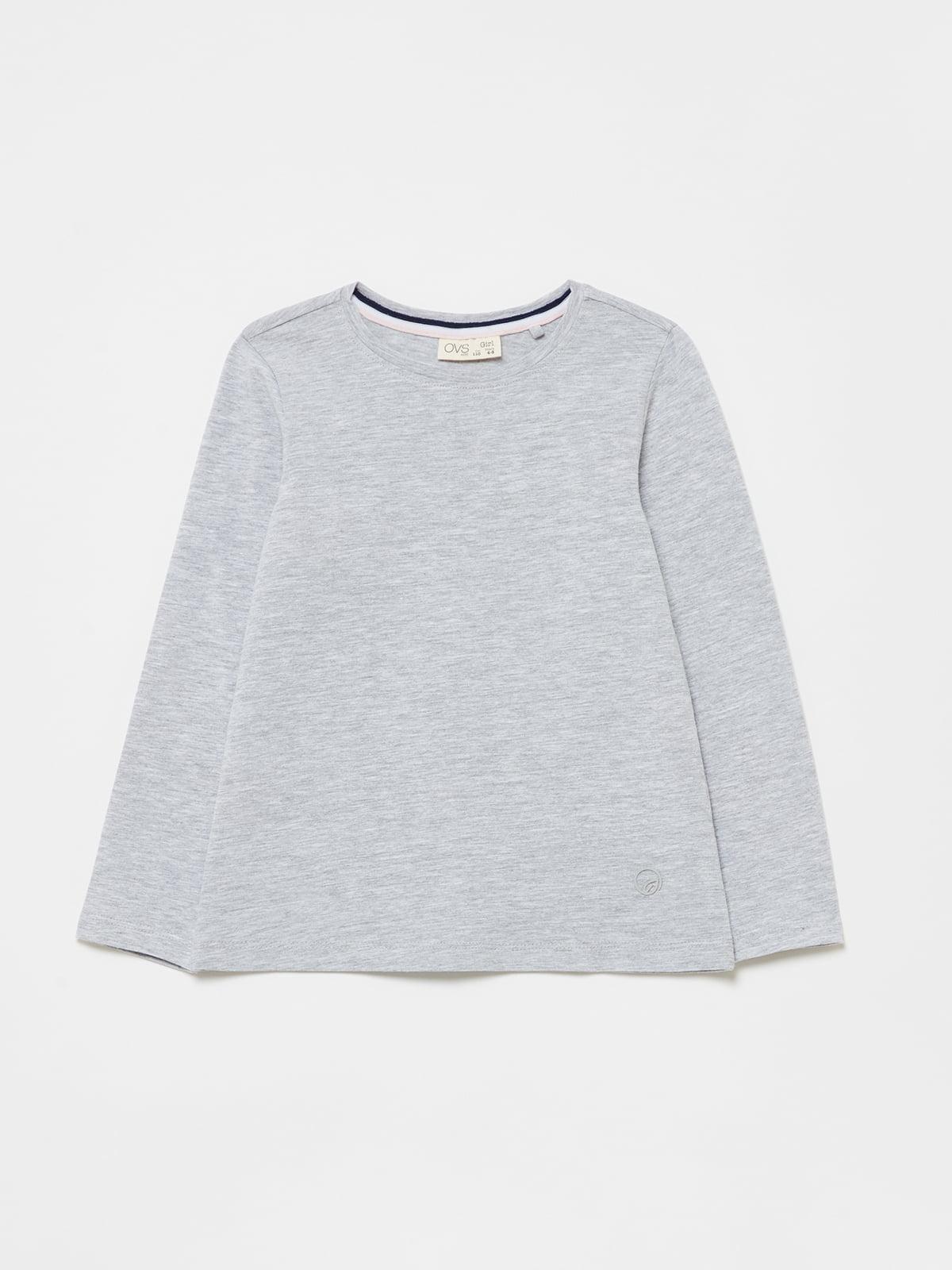Лонгслив серый   5635531